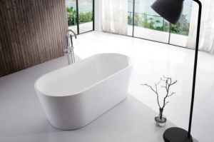 Modern Design Free Standing Bathtub By1822-1600 pictures & photos