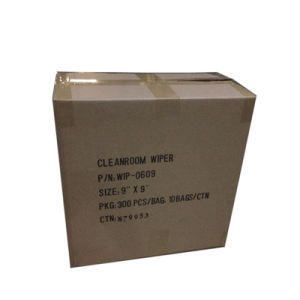 "Cleanroom Ployester Wiper 4""*4"" for Cleanroom Assembling Line pictures & photos"