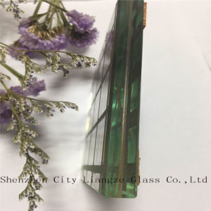 Decorative Glass/Art Glass/Ultra Clear Lacquered Yellow Craft Glass for Building pictures & photos