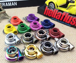 Color Mini Auto Parts Turbocharger Toy Keyring Turbo Spinning Keychain Turbine pictures & photos
