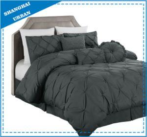 7PCS Pintuck Duvet Cover Bedding Set pictures & photos