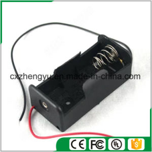 1*C Battery Holder with Red/Black Wire Leads