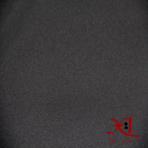 Stretch Polyester Black Polar Composite Fabric for Winter Jacket/Windbreaker pictures & photos