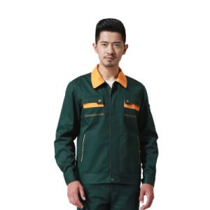 Industrial Unisex Mechanic Safety Worker Uniform of Cotton pictures & photos