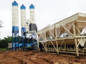 50m3/H Ready Mixed Concrete Mixing Plant with Price pictures & photos