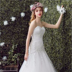 2017 Lace Sweetheart Mermaid Wedding Gown Dress (Dream-100026) pictures & photos