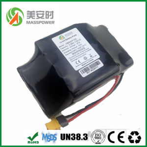 18650 10s2p Lithium Ion 36V 4400mAh Battery Pack UL Approved Hoverboard Samsung Battery pictures & photos