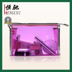 Wholesale Transparent PVC Colored Waterproof Travel Wash Bag pictures & photos