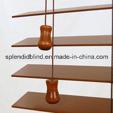 American Basswood Style Tassel Wooden Blinds (SGD-W-5145) pictures & photos
