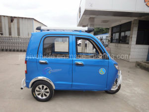 125cc 150cc Blue Color Passenger Tricycle with Reverse Video pictures & photos