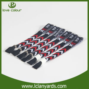 Fashion Design Fabric Adjustable RFID Wristband Custom Logo pictures & photos