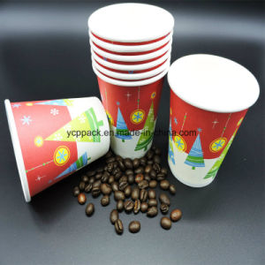 Single Wall Printed Disposable Paper Cups pictures & photos