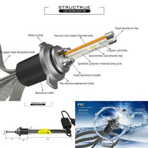 New LED Lighting Headlight, High & Low Beam Auto Car LED Headlight Aluminium Base LED Bulb Headlights, LED Head Lamp pictures & photos