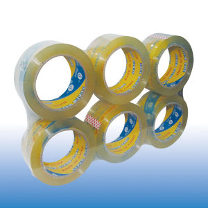 Crystal Clear BOPP Packing Tape pictures & photos