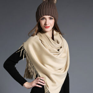 Wholesal Higher Quality 100% Cashmere Scarf Pashmina pictures & photos