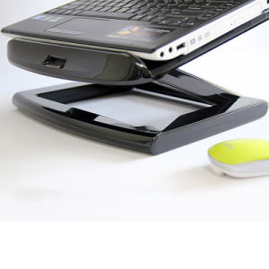 Foldable Laptop Stand for 10-17 Inch Notebook Portable Holder with Fan pictures & photos