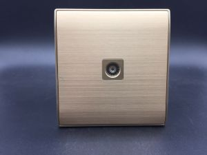 TV Cp Wall Socket European Style Silver pictures & photos