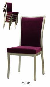 New Design Purple Aluminum Dining Chairs pictures & photos