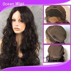 Wholesale Price Human Hair Material Lace Front Wigs pictures & photos