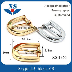 Shiny Imitation Gold Custom Bel Buckles for Women pictures & photos