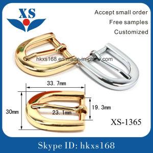 Shiny Imitation Gold Custom Bel Buckles for Women