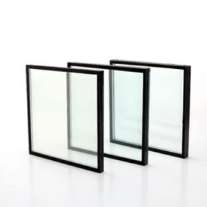 Low Emissivity Coated U-Value Glazing Curtain Wall Glass pictures & photos