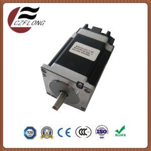 Stepping Motor 2-Phase NEMA24 60*60mm Hybrid for CNC Buttoning Machine pictures & photos