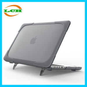 "Transparent Rubbered Shell Tablet PC Protective Cover Case for MacBook PRO Retina 13.3"" pictures & photos"