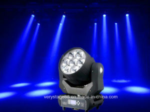 7 X 40W Beam+Zoom+Wash LED Moving Head Light pictures & photos