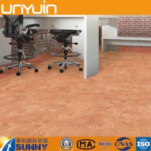 Cheap and Durable Household Plastic Stone PVC Vinyl Floor Tile pictures & photos