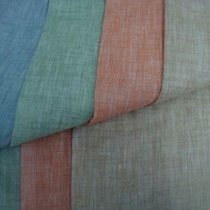 Two Tone Woven Textile Rayon Linen Fabric for Shirt