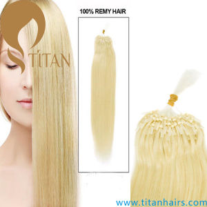 Virgin Remy Human Micro Ring Loop Hair Extension (Titan hair 357) pictures & photos