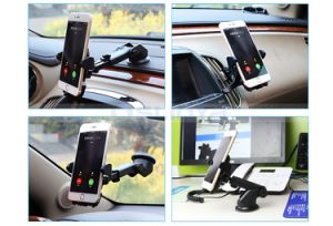 Multiple 360 Degree Rotation Flexble Car Bracket High-End Car Phone Holder for iPhone 7 Plus 6s Samsung S7 Edge Samrt Cell Mobile Phone pictures & photos