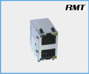 RJ45 Connector (RMT-59-1459-2*1) pictures & photos