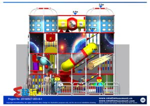 Space Themed Indoor Playground with Tube pictures & photos