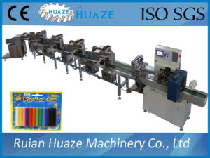 12 Colors Plasticine Extrude Packaging Line, Play Dough Packaging Machine pictures & photos