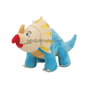 BSCI ICTI Custom Stuffed Animal Super Soft Plush Dinosaur Toy pictures & photos