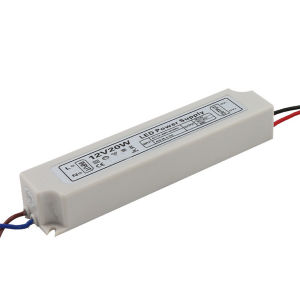 Plastic LED Driver IP67 12V20W pictures & photos