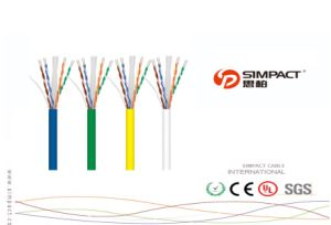 CPR RoHS, Ce Approved LSZH CAT6 Cable pictures & photos