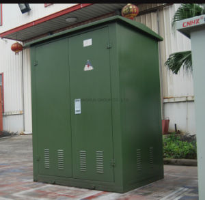 Prefabricated Army Green Transformer Substation pictures & photos