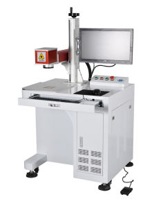 Fiber Laser Portable Marking Machine for Steel pictures & photos