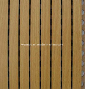 Grooved MDF Acoustic Materials 14/2 pictures & photos