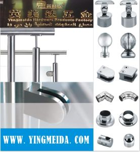 Stainless Staircase Handrail Fittings for Pipe Connector pictures & photos