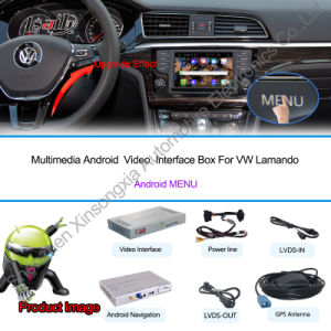 Android GPS Navigation System Video Interface for Volkswagen Sharan pictures & photos