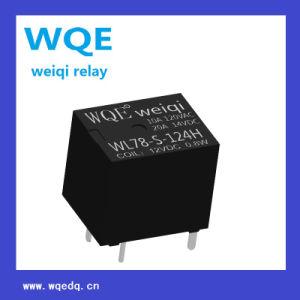 (WL78) Miniature Automotive Relay Black Cover Auto Parts for Automobile pictures & photos