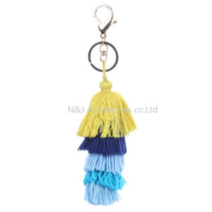 New Tassel Charm Triple Layer Cotton Ribbon for Key Chains Jewelry pictures & photos