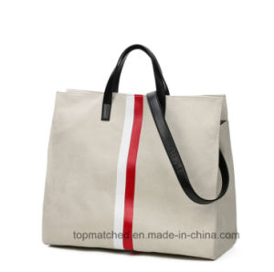 The European and American Style Canvas Handbags for Ladies OEM pictures & photos