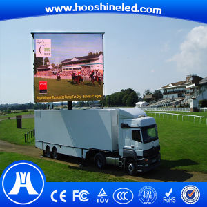 Video Display Function P8 LED Outdoor Slim Car pictures & photos