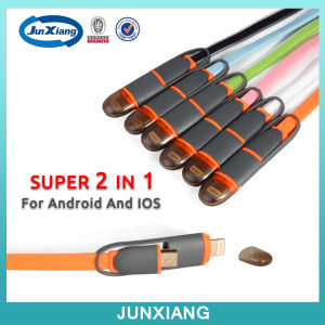 Best Selling Fast Connect Colorful Micro Braided USB Cable Magnetic USB Cable pictures & photos