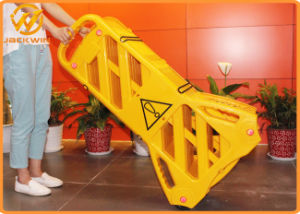 Low MOQ Yellow Foldable Plastic Barrier pictures & photos